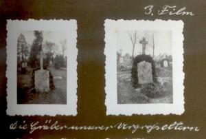 die Gräber unserer Urgroßeltern