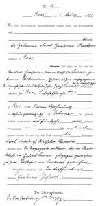 Geburtsurkunde Karl Leisners