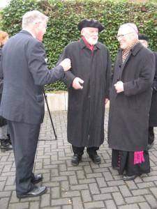 v. l. Werner Stalder, Hans-Karl Seeger, Erzbischof em. Werner Thissen