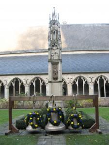v. l. Gottesmutter Maria-Glocke, Kardinal von Galen-Glocke, Karl Leisner-Glocke