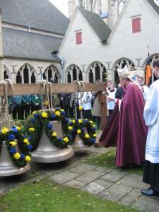 Weihe der Karl Leisner-Glocke: Weihbischof Wilfried Theising