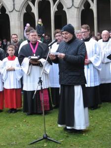 Fürbitte: Pater Ägidius Metzeler OCist