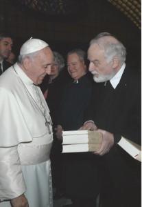 Papst Franziskus und Hans-Karl Seeger