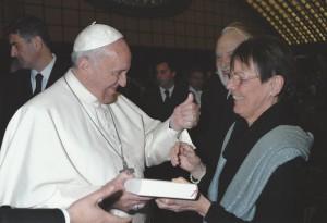 Papst Franziskus, Hans-Karl Seeger und Gabriele Latzel