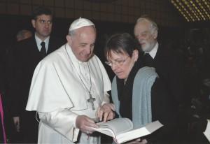 Papst Franziskus, Gabriele Latzel und Hans-Karl Seeger