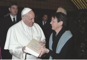 Papst Franziskus und Gabriele Latzel