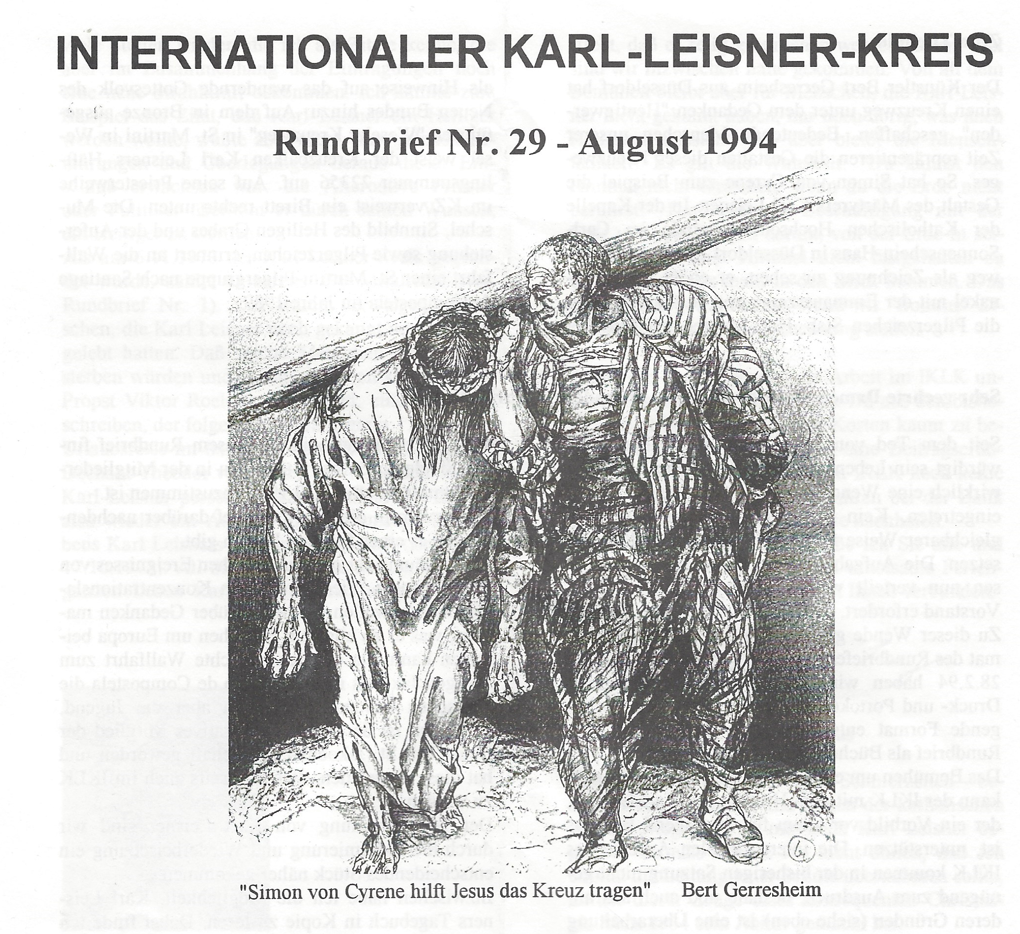 Łagiewniki in Polen: Karl Leisner in der Heilig-Kreuz-Kapelle › IKLK ...