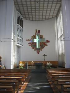 Hamm St. Pankratius Kirchenschiff 2