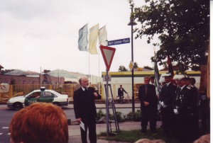 Kalkar Karl-Leisner-Platz Einweihung