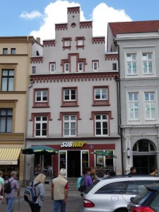 Neubau in der Altstadt