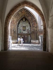 Westportal von St. Nikolai