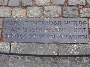 Kleve Friedhof Grabplatte 2