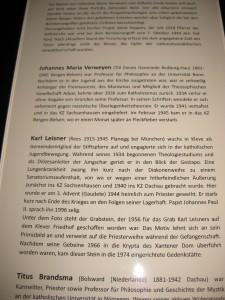 Kleve Stiftskirche Gedenkstätte 7