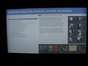Berlin Gedenkstätte Widerstand aus christichem Glauben 1