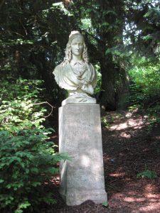 0014 Annette-Denkmal an der Kreuzschanze in Münster